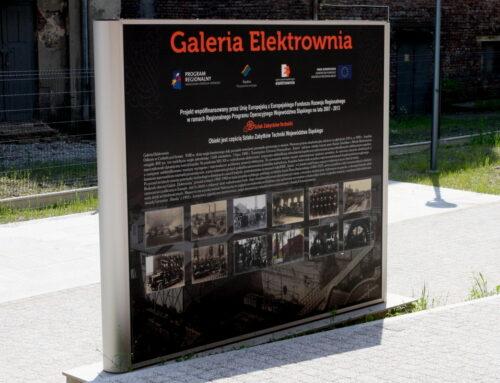 Centrum Saturna – reklama dla muzeum Stara Elektrownia